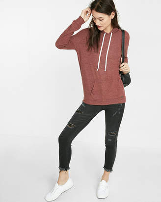 Express One Eleven Plush Jersey Hoodie