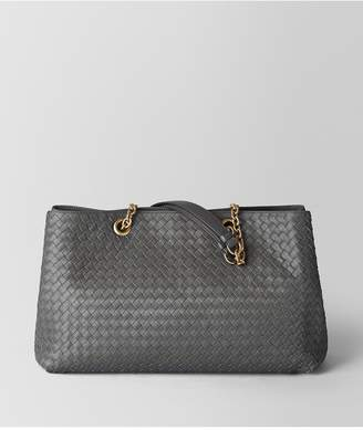 Bottega Veneta Light Grey Intrecciato Nappa Tote