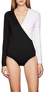 Vaara Women's Isa Colorblocked Jersey Bodysuit - Black