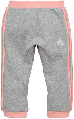 adidas Baby Girls Jogger - Medium Grey Heather