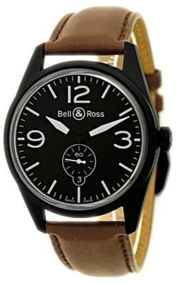 "Bell & Ross Vintage"" Black PVD Stainless Steel Mens Watch"