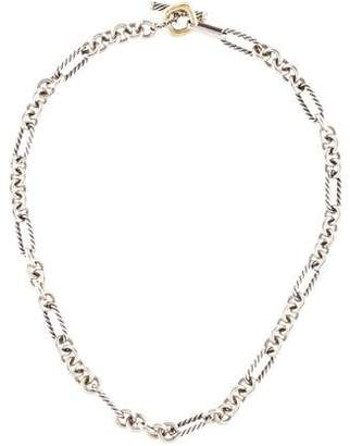 David Yurman Two-Tone Chain Necklace