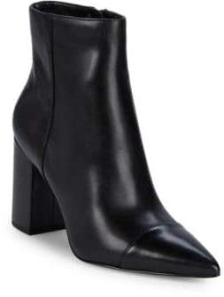 Nine West Ranfeild Cap Toe Ankle Boots