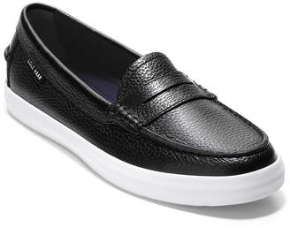 Cole Haan Nantucket Leather Penny Loafers Black