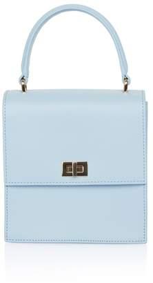 Neely & Chloe Neely Chloe Mini Lady Bag In Blue