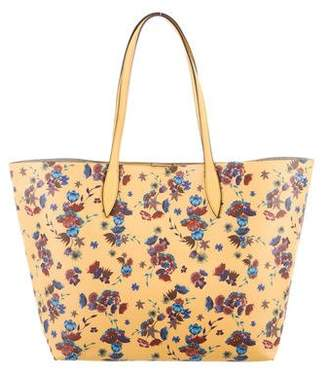 Rebecca Minkoff Floral Print Coated Canvas Tote