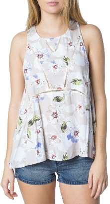 Women's O'Neill Ona Floral Print Woven Tank $38 thestylecure.com