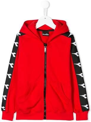 Diadora (ディアドラ) - Diadora Junior zipped hoodie