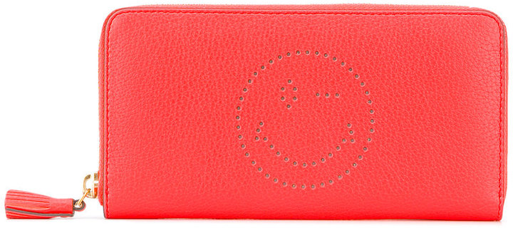 Anya Hindmarch Anya Hindmarch zip around Wink wallet