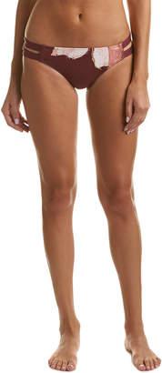 Carmen Marc Valvo Strappy Bikini Bottom