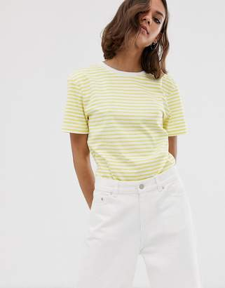Dr. Denim relaxed fit stripe t shirt