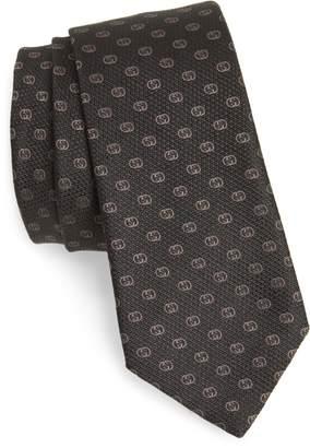 Gucci GG Tinev Silk Jacquard Tie