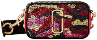 Marc Jacobs Camo Sequin Snapshot Handbags