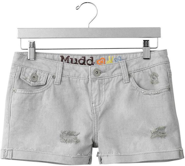 Mudd® cuffed denim shorts