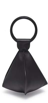 Emma Charles 'Lady Gwen' medium ring handle leather dumpling bag