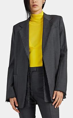 Proenza Schouler Women's Wool Deconstructed Blazer - Gray
