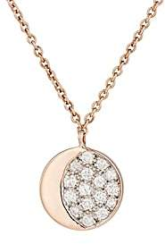 Pamela Love Fine Jewelry Women's Reversible Moon Phase Pendant Necklace