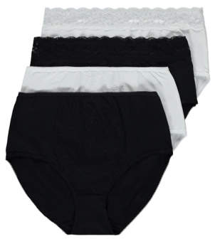 221fb4d79a46 Nylon Knickers Full Briefs - ShopStyle UK