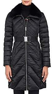 Rossignol Women's Maud Fur-Trimmed Down-Quilted Coat-Black