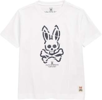 Psycho Bunny (サイコ バニー) - Psycho Bunny Teston Graphic T-Shirt