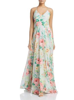 Yumi Kim Peace & Love Floral-Print Maxi Dress