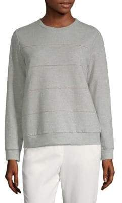 Peserico Cotton Crewneck Sweatshirt