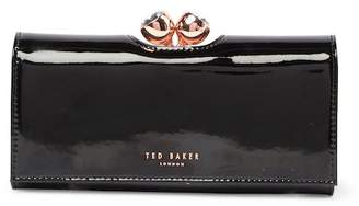 Ted Baker Honeyy Twisted Bobble Patent Leather Matinee Wallet