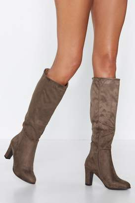 Nasty Gal Knee You There Knee-High Boot