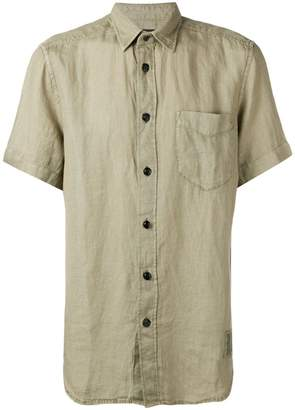 Diesel short-sleeve linen shirt
