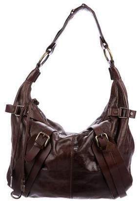 Dolce & Gabbana Grained Leather Hobo