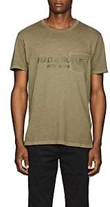 Rag & Bone Men's Logo-Print Cotton T-Shirt - Olive