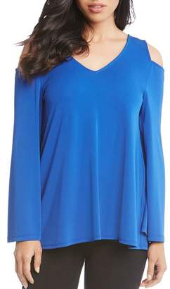 Karen Kane Cold-Shoulder Top