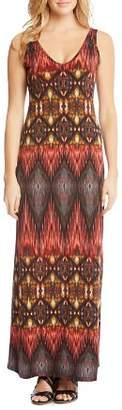 Karen Kane Ikat Maxi Dress