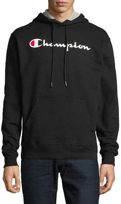 Champion Screen-Print Fleece Hoodie