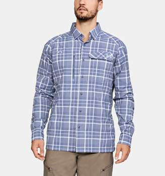 Under Armour Men's UA Fish Hunter Plaid Long Sleeve