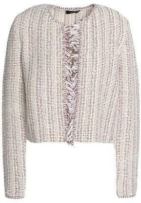 Cotton-Blend Bouclé-Tweed Jacket