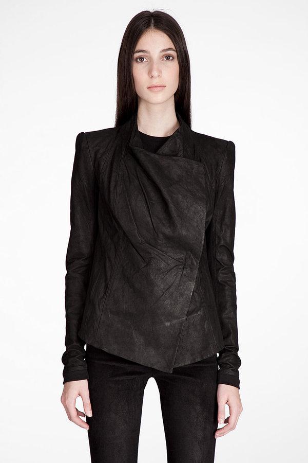 Helmut lang Anaconda Leather Jacket