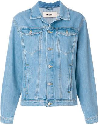 Misbhv Do you still think of me denim jacket