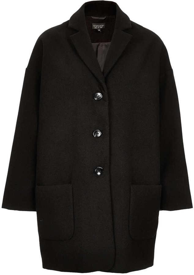 Topshop Boyfriend Coat