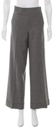 Jean Paul Gaultier Wool High-Rise Pants