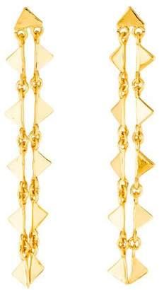 Arme De L'Amour Triangle Drop Earrings