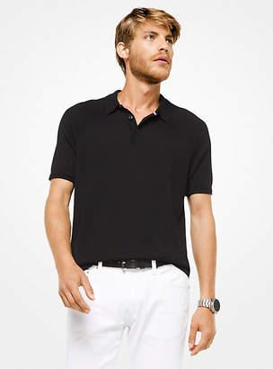 Michael Kors Cotton-Blend Polo Shirt