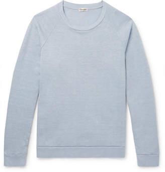 Camoshita Loopback Linen and Cotton-Blend Sweatshirt