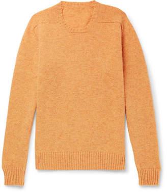 Anderson & Sheppard Mélange Shetland Wool Sweater