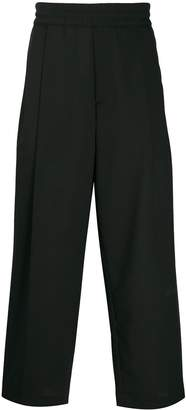 McQ elasticated waist trousers