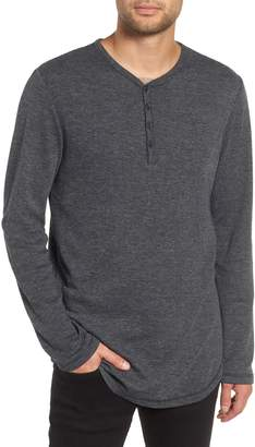 The Rail Thermal Long Sleeve Henley T-Shirt