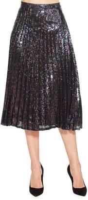 Parker Citrine Sequin Skirt