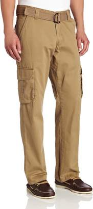 Lee Men's Relaxed Fit Utility Belted Cargo Pants