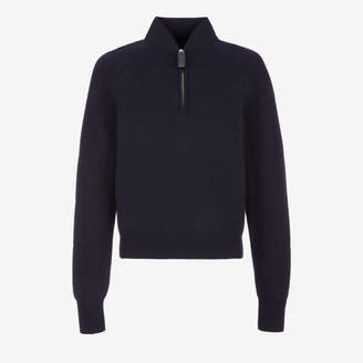Bally Half Zip Wool sweater