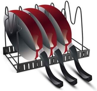 Yosoo Multi Tiers Pot Frying Pan Lid Storage Rack Organizer Kitchen Cookware Stand Holder,Pot Organizer, Pot Storage Rack